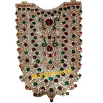 Deity Decorative Necklace Muthangi with Stonework, Temple Jewellery, Anarghyaa.com, Deity Accessories
