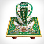 Marble Ganesha With Chowki, anarghyaa.com, return gifts