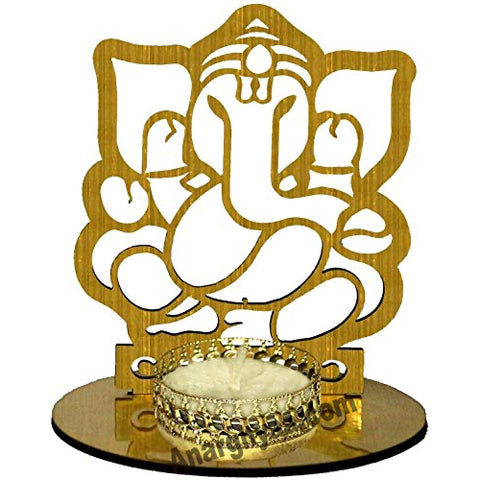 Ganesha Shadow Diya