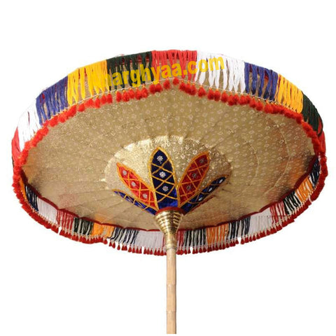 Traditional Temple Umbrella, Muthukuda umbrella, Kudai for Temple Deity, Anarghyaa.com