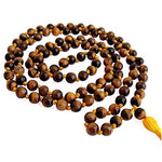 Tiger's Eye Mala | Crytal Puja  Items | Buy Puja Items online at Anarghyaa.com