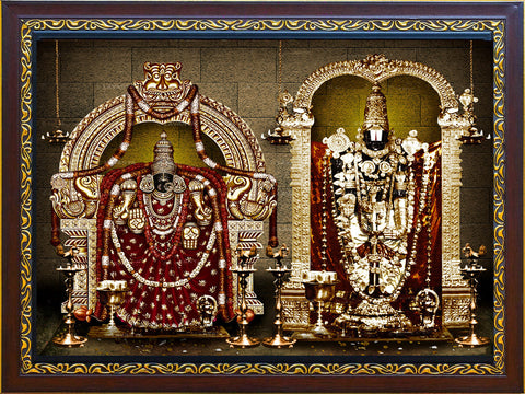 Lord Balaji Padmavathi Photo, Anarghyaa.com, Gods Photo for puja