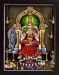 Goddess Kamakshi Photo with Frame, God Photo, Deity Photos, Anarghyaa.com