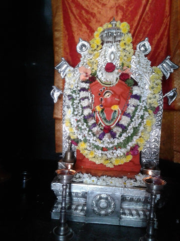 Saligrama Anjaneya Swamy Temple | Temple Prasadam| Book online to perform Puja in Temples | Anarghyaa.com