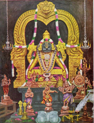 Sholinghur Yoga Narasimha Temple | Temple Prasadam| Book online to perform Puja in Temples | Anarghyaa.com