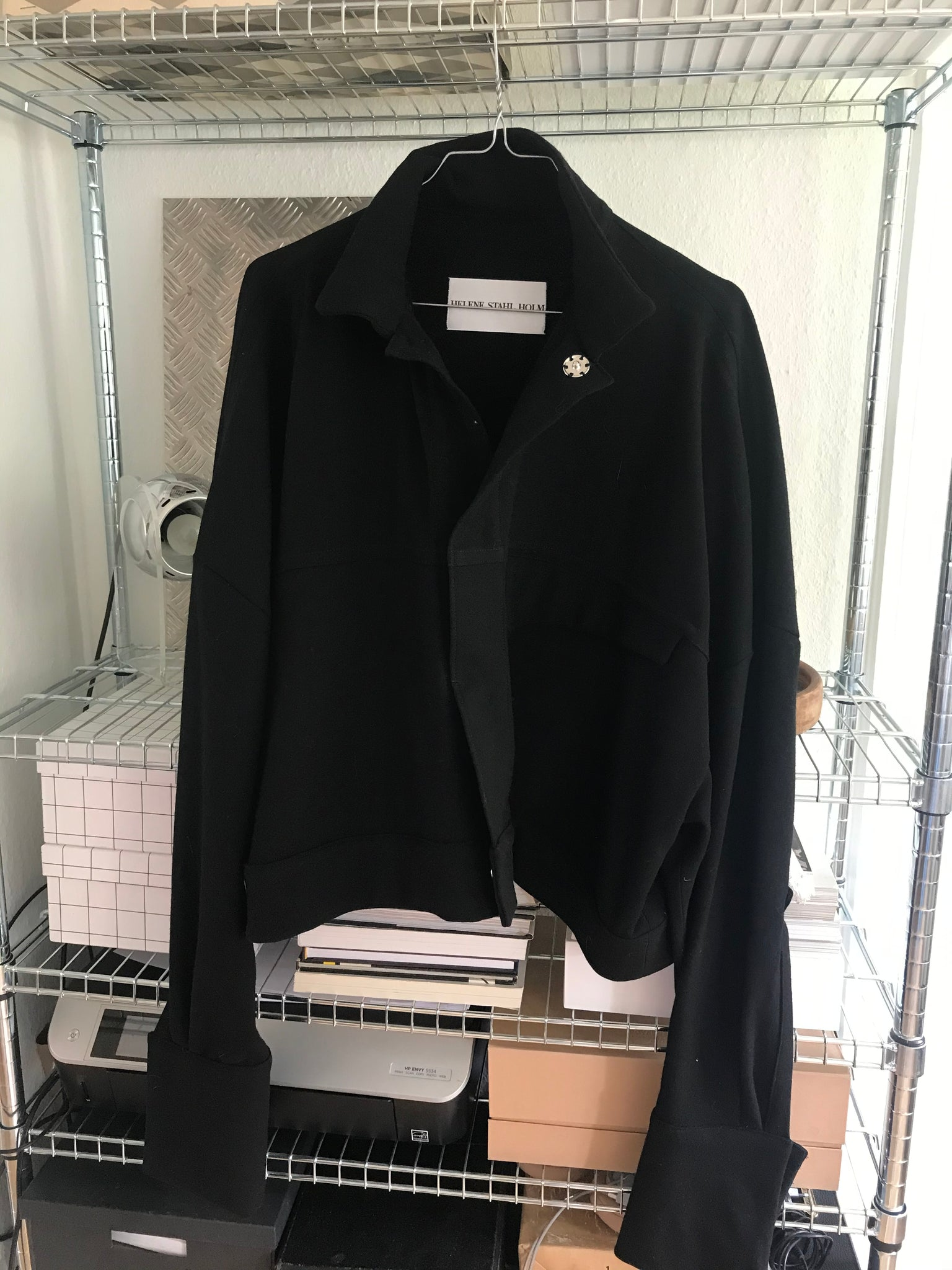 The Jacket - Black Wool
