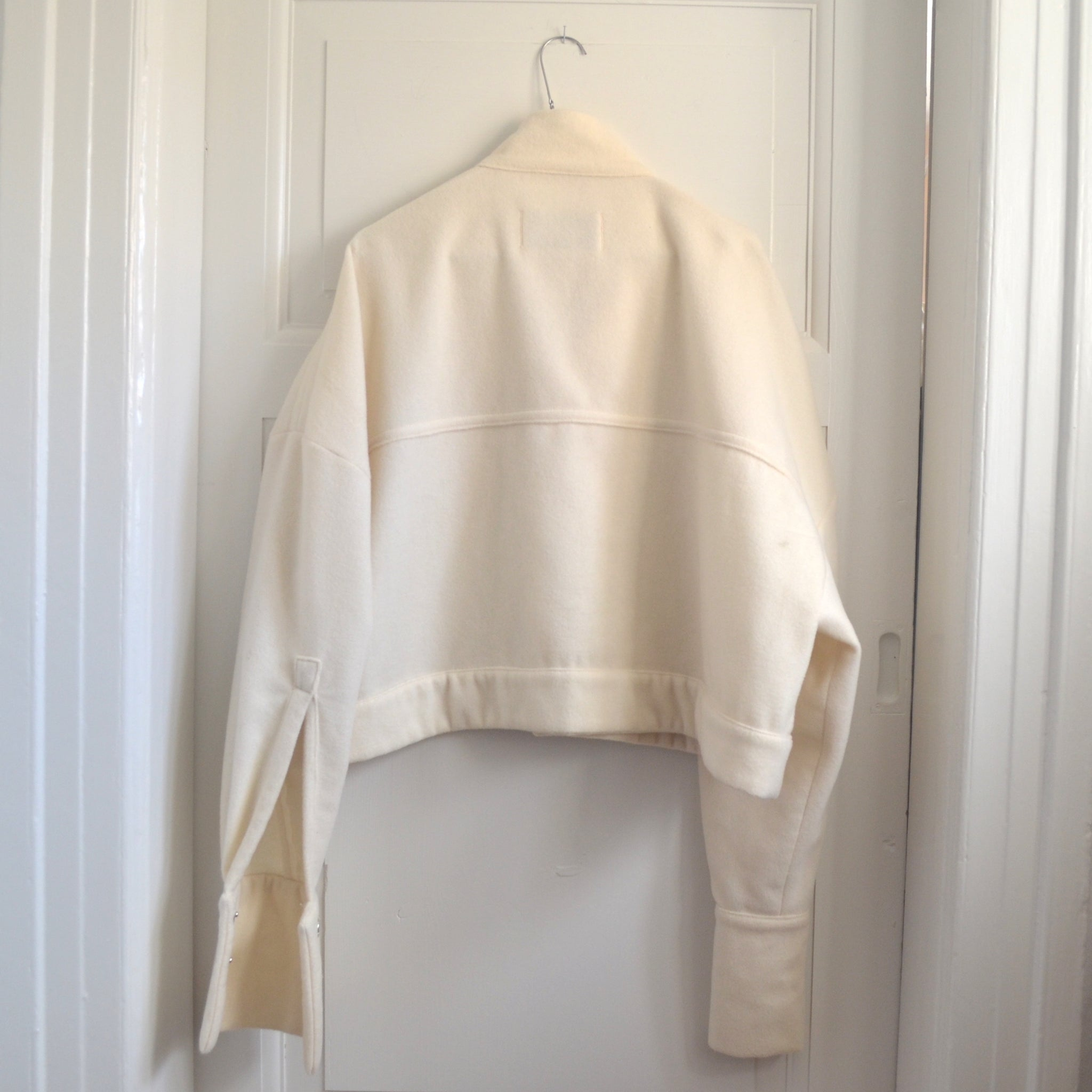 The Jacket - White Wool