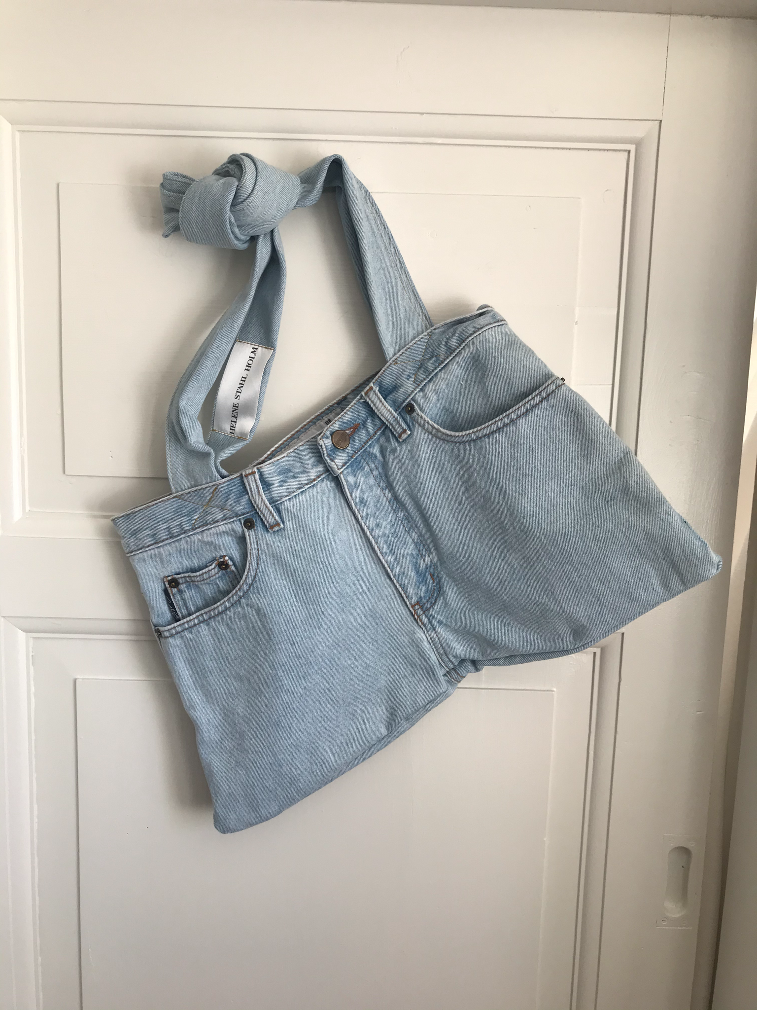 The Jeans Bag - Light Denim