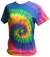 Load image into Gallery viewer, Turtle Tie Dye - Neon Rainbow