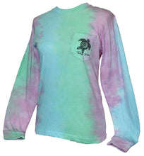 Load image into Gallery viewer, Turtle Tie-Dye - Mint Blue Pink