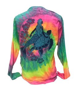 Mermaid Tie Dye - Minty Rainbow