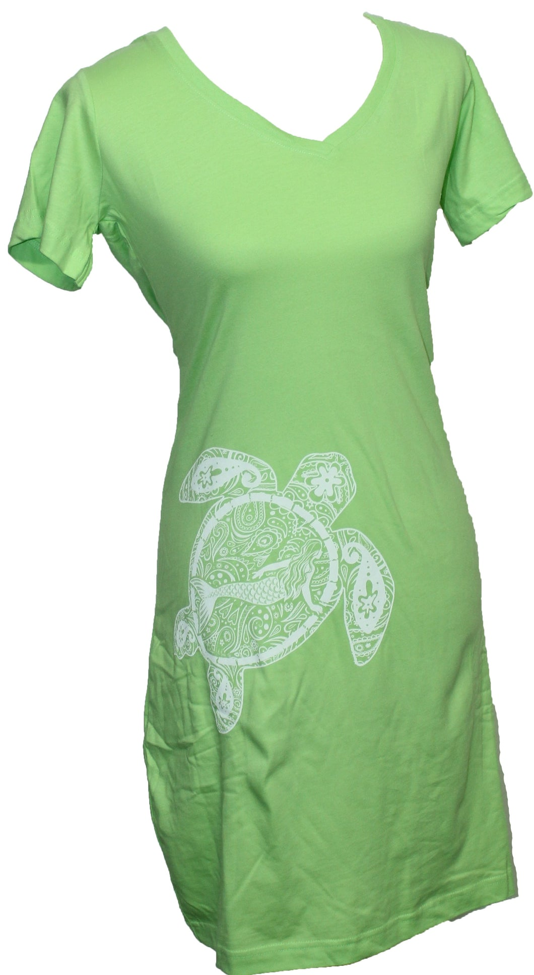 Turtle Mermaid Cover-Up - Green