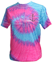 Load image into Gallery viewer, Mermaid Anchor - Tie Dye Flo Blue/Pink