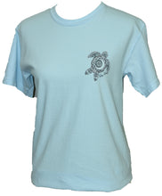 Load image into Gallery viewer, White Fade Turtle - Chambray Blue