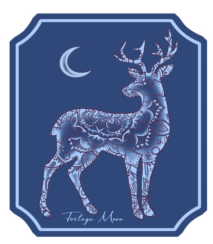 Moon Deer Decal