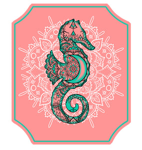 Seahorse Decal
