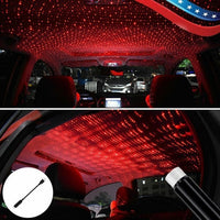 Car and Home Ceiling Romantic USB Night Light