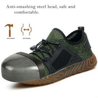 The Most Airy Safety Shoes