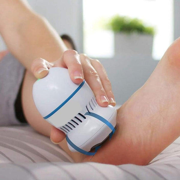 Foot File And Callus Remover With Built - In Vacuum