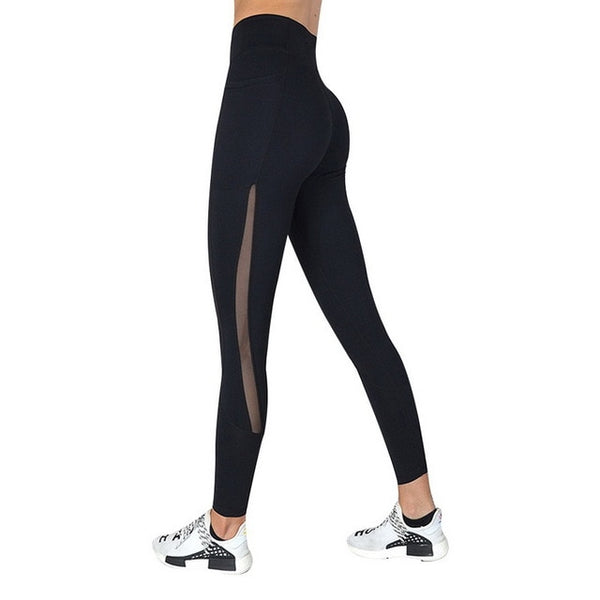 Women Yoga Sport Leggings Phone Pocket
