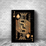 King of Spades-Gold