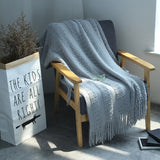 Amelia Knitted Throw Blanket