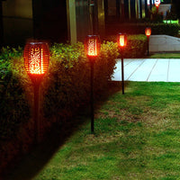 The Most Realistic Flashing Flame Light, Make You Garden More Stunning at Night