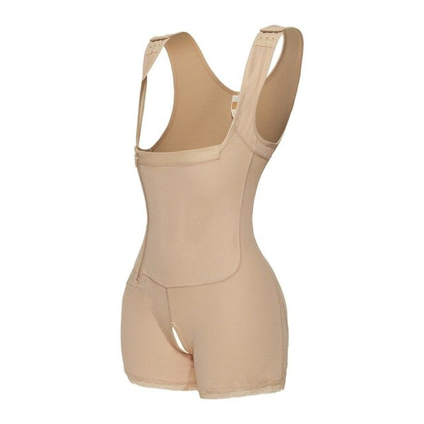 Side Zipper Tummy Control Shapewear