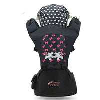 0-36 Months Bow Breathable Front Facing Baby Carrier