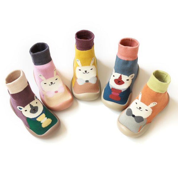 New Autumn and Winter Cartoon Socks Shoes