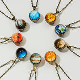 Our Planet Necklace Sterling Silver Edition