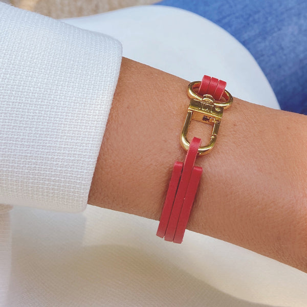 RED RED RED Gold BRACELET