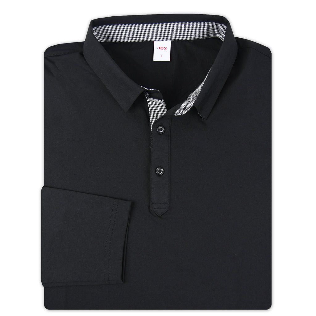 JDX Men's Long Sleeve Polo (X2RFTLM01)