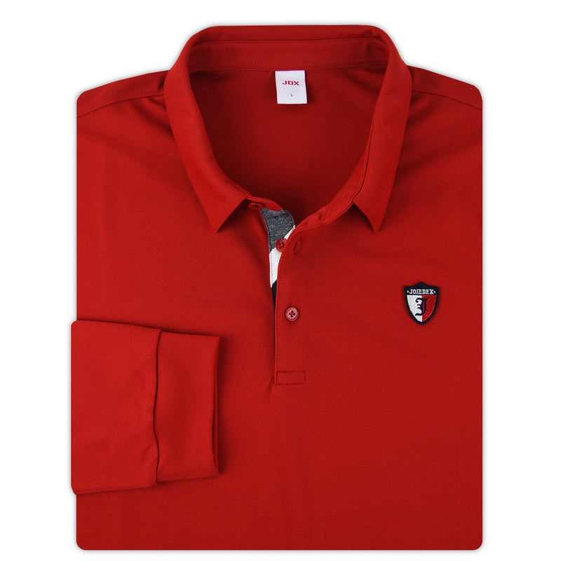 JDX Men's Long Sleeve Polo