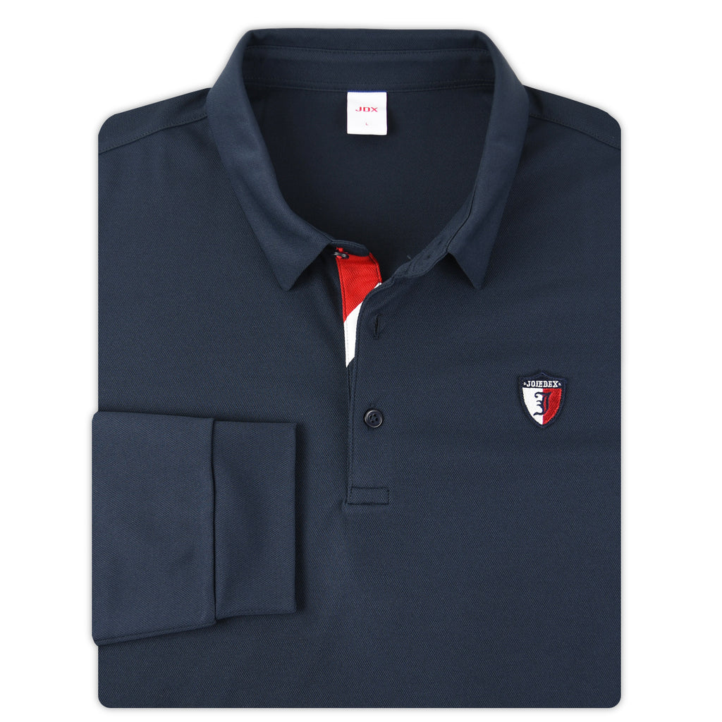 JDX Men's Long Sleeve Polo (X2RFTLM41)