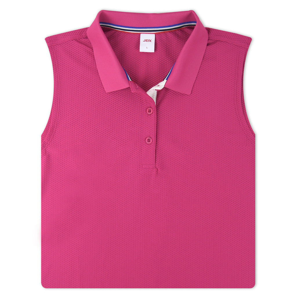 JDX Women's Sleeveless Polo