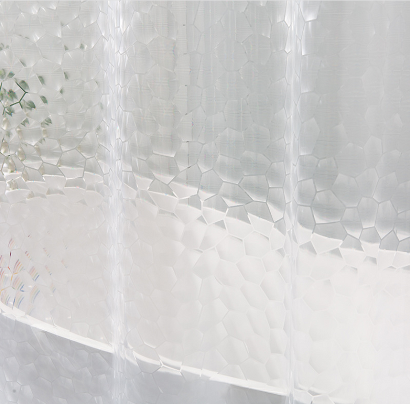 3D Water Cube Shower Curtain 180x200 image 2