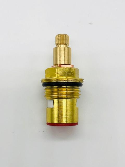 1/2 Inch Brass Tap Cartridge with Ceramic Disc 18 Hot Type