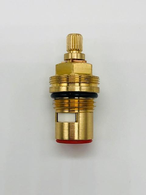 1/2 Inch Brass Tap Cartridge with Ceramic Disc 5 Hot Type
