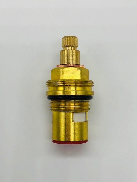 1/2 Inch Brass Tap Cartridge with Ceramic Disc 6 Hot Type