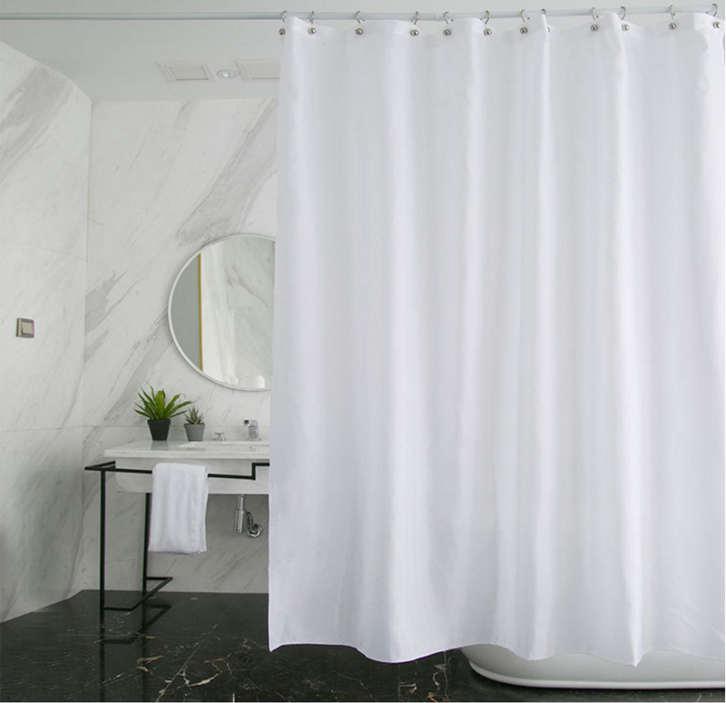 Long Shower Curtain 180cm x 180cm image 1