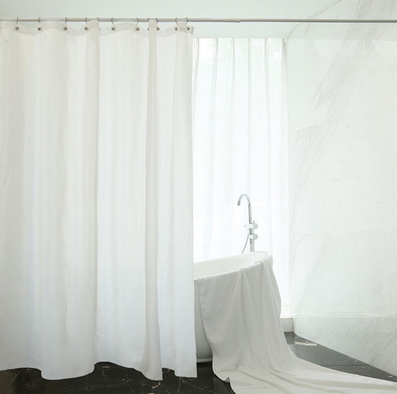 Long Shower Curtain 180cm x 180cm image 2