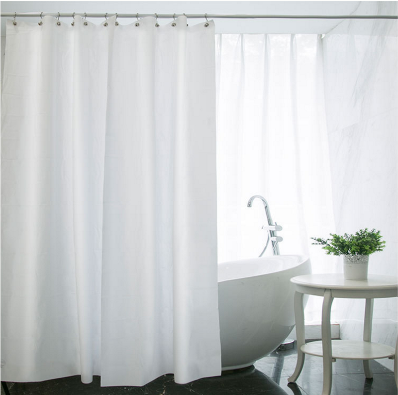 Long Shower Curtain 180cm x 180cm image 3