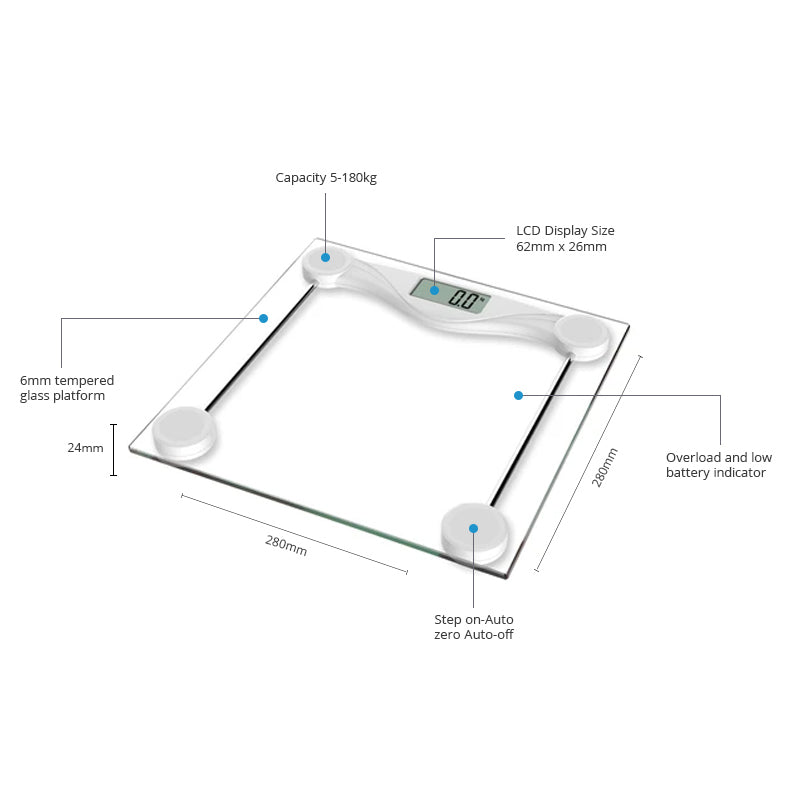 High Precision Digital Bathroom Scales (CB401)