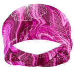 Marble Palms Pink