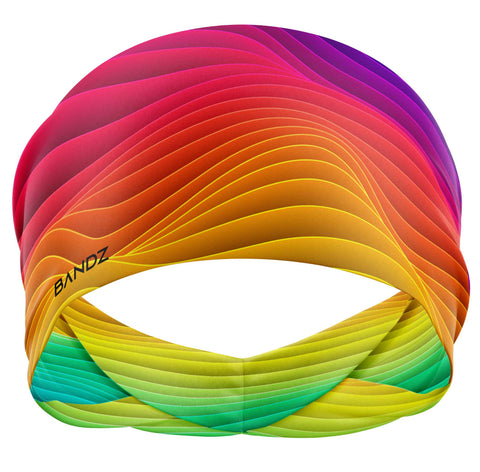 Rainbow Gradient Waves