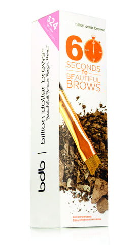 Набор для бровей 60 Seconds To Beautiful Brows Kit BDB