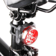 Load image into Gallery viewer, LED Cycling Light - Front & Rear 4 mode (USB Rechargeable)