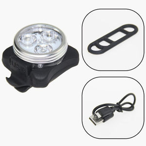 LED Cycling Light - Front & Rear 4 mode (USB Rechargeable)