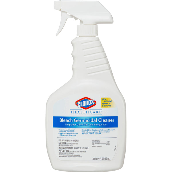 Clorox Healthcare Bleach Germicidal Cleaner Disinfectant Spray (22 oz)